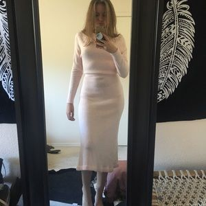 Dresses & Skirts - Baby Pink sweater dress
